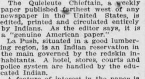 An Indian newspaper 1