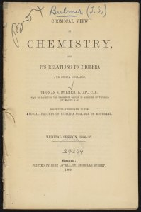 Bulmer Cosmical view of chemistry