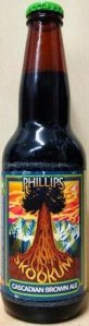 Phillips Skookum Cascadian Dark beer