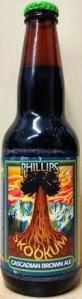 Phillips Skookum Cascadian Dark beer