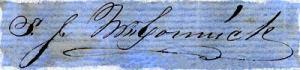 Stephen McCormick signature