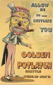 Seattle Potlatch invitation
