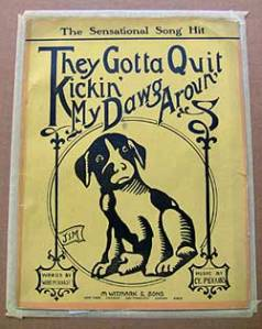 hound dog song sheet music