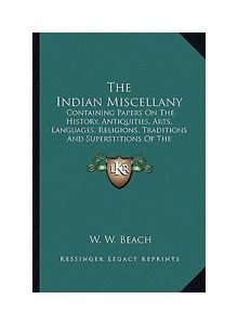 Indian Miscellany