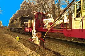 Rail plow