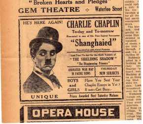 Chaplin Shanghaied