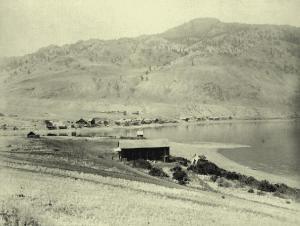 Frank Savona's ferry circa 1885