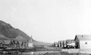 Kamloops Indian village