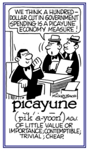 picayune cartoon