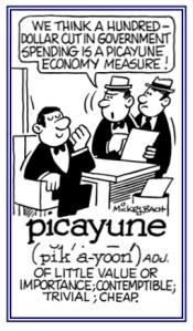 picayune cartoon