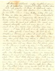 Civil War CJ letter page 2