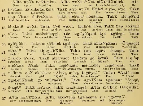 boas chinook texts snip