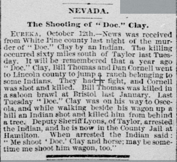 shooting of doc clay