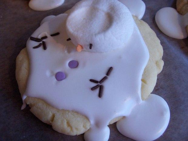 chinook snowman