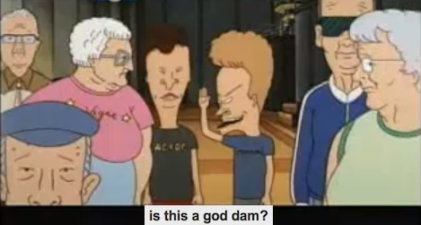 God dam