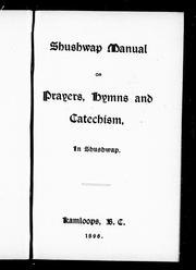 Shuswap catechism