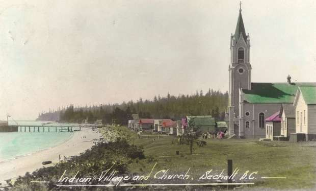 sechelt indian church