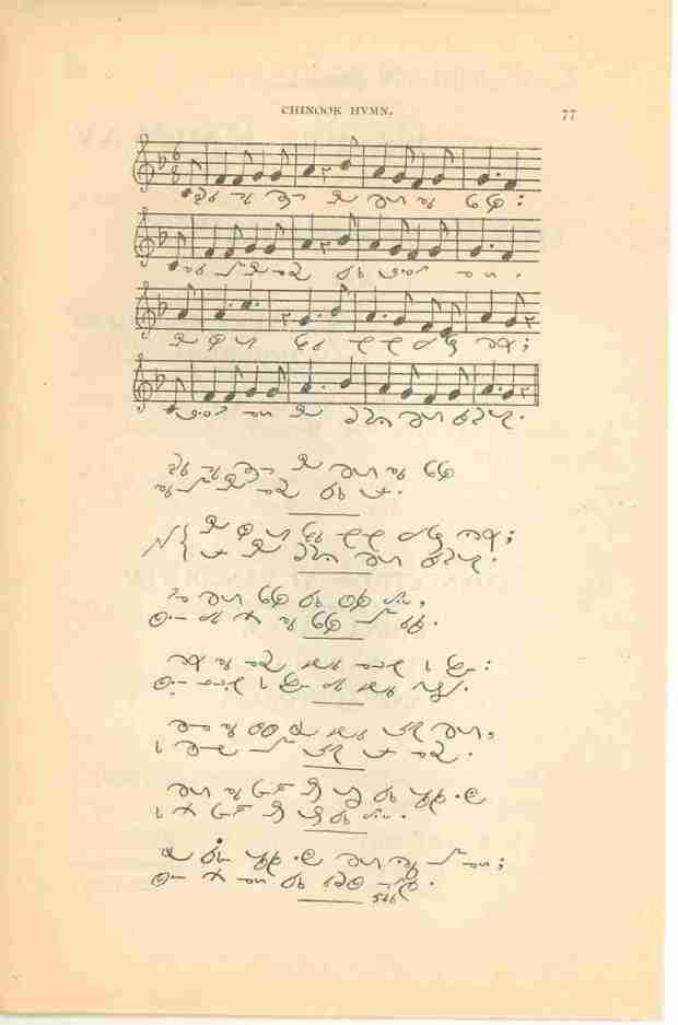 Chinook hymn