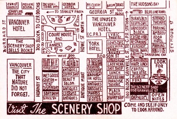 scenery shop