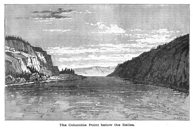 columbia point below the dalles