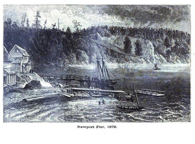 newport pier 1879