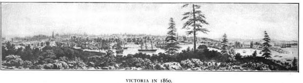 Victoria in 1860