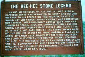 Hee Hee Stone legend