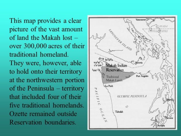 Makah traditional lands