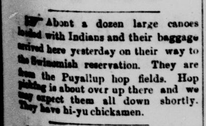 indians hops puyallup