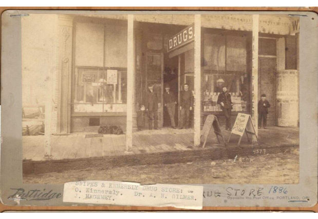 Snipes and Kinersly drug store 1886.png