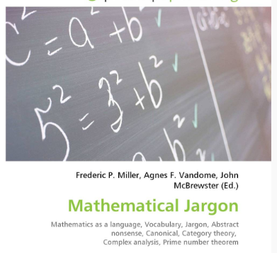 mathematical jargon