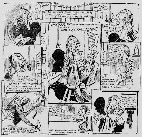 a hatchet man cartoon