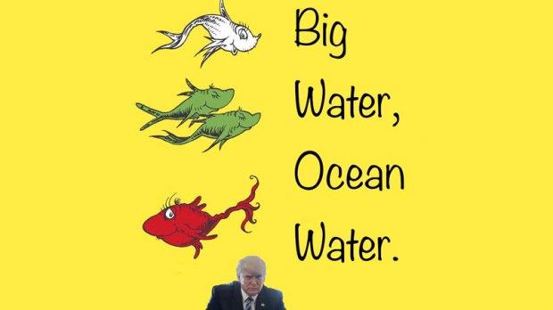 big water ocean water
