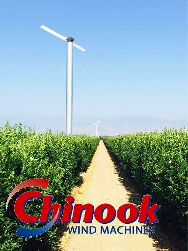 Chinook wind machine