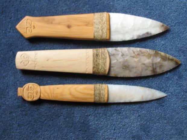 chinook salish style knives