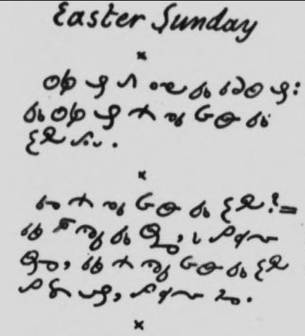 Eastern Sunday