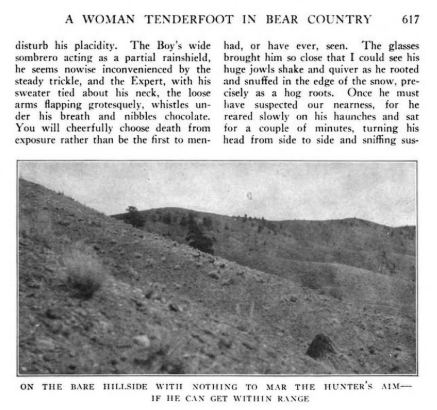 a woman tenderfoot in bear country 15