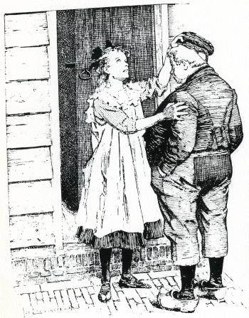 blind girl next door