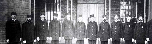 early victoria police