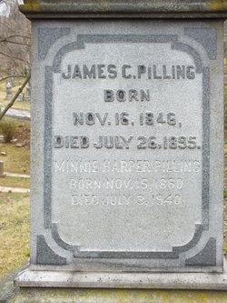 pilling grave