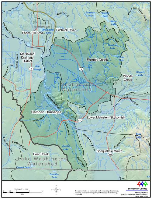 French+Creek+Watershed+Map