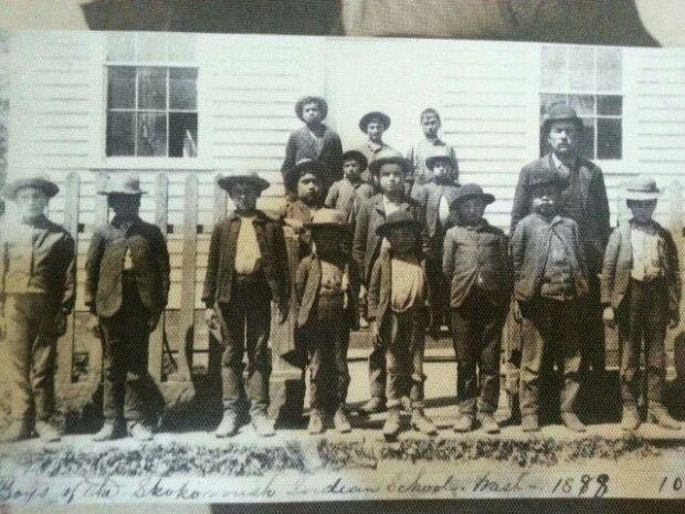 skokomish school 1888