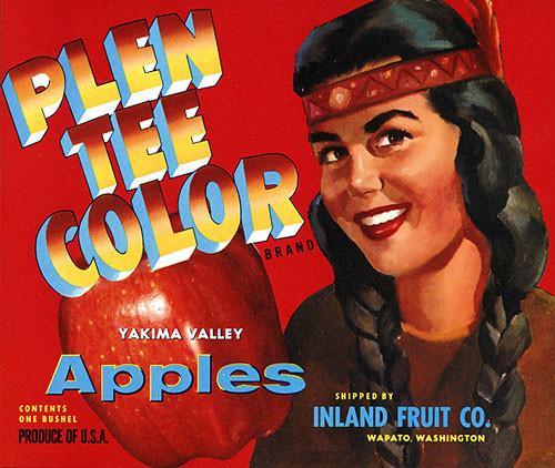apples plen tee color
