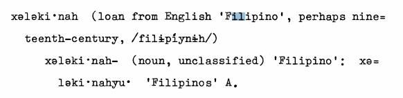 eyak filipino