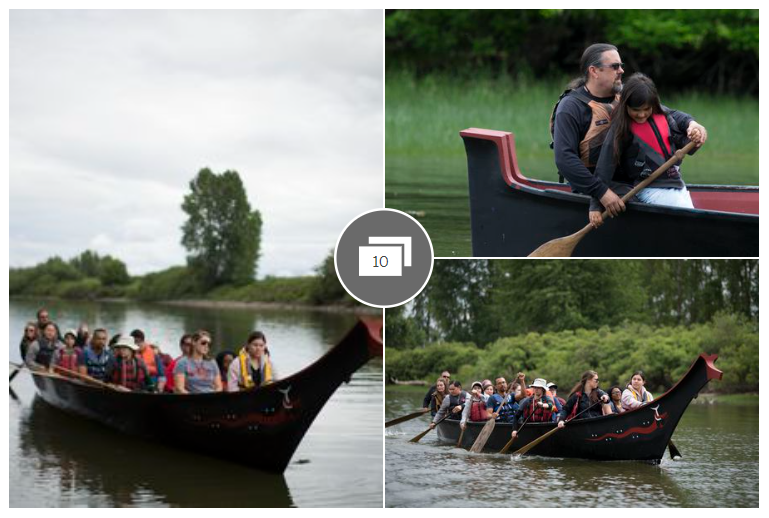 canoe together