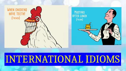 international idioms
