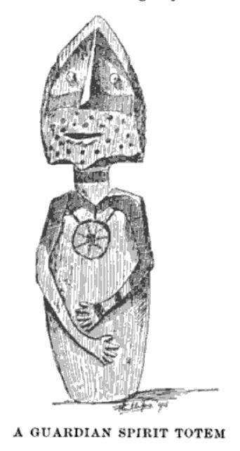 a guardian spirit totem