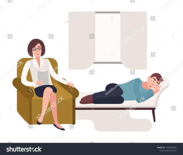 stock-vector-man-lying-down-on-couch-and-female-psychologist-psychoanalyst-or-psychotherapist-sitting-in-chair-1034553562
